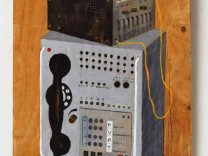 Vercongoleesd gereedschap, East-German telephone and eavesdropping switch, 1997
