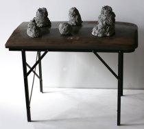 Untitled (Refrigerator Table), c. 1989