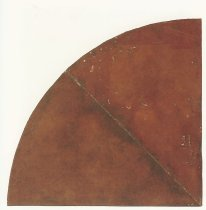 Quarter Circle Drawing, 1972-1973