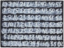 Counting (1-62), 1996
