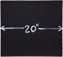 "Measurement 20"", 1997"