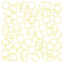 Two Yellows, Composition with Circles 3, 2011