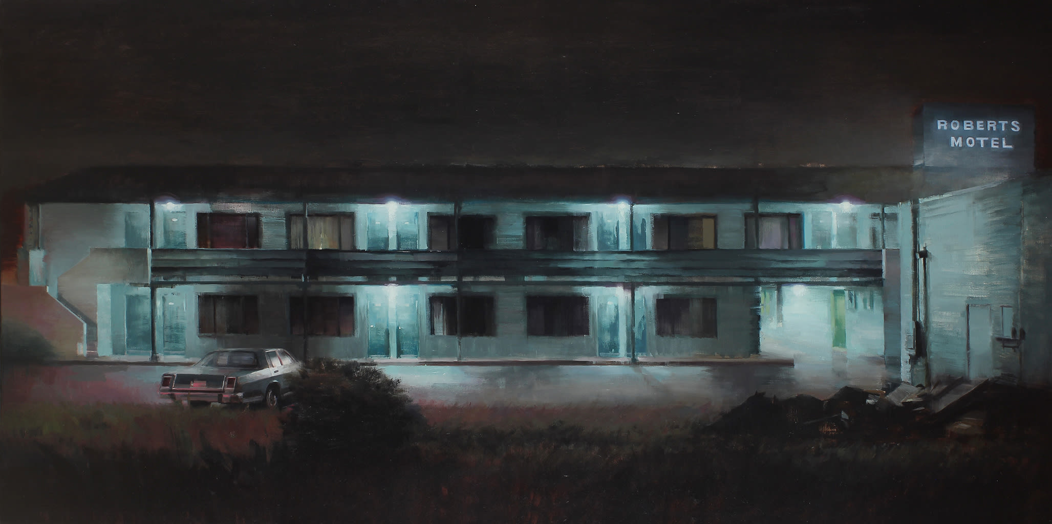 Kim Cogan, Old Roberts Motel, 2019