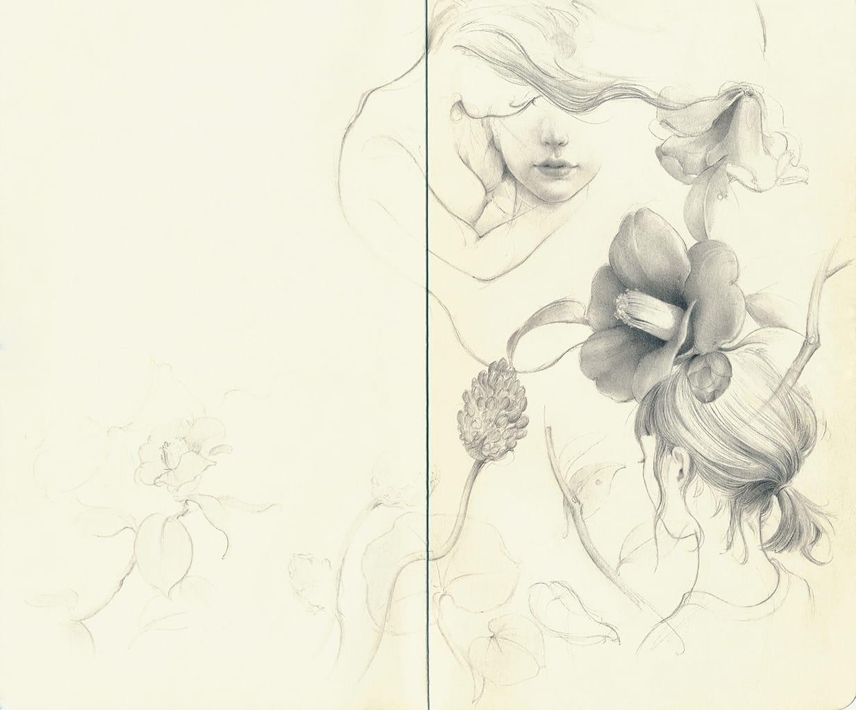Ozabu, Sketch (Untitled), 2019
