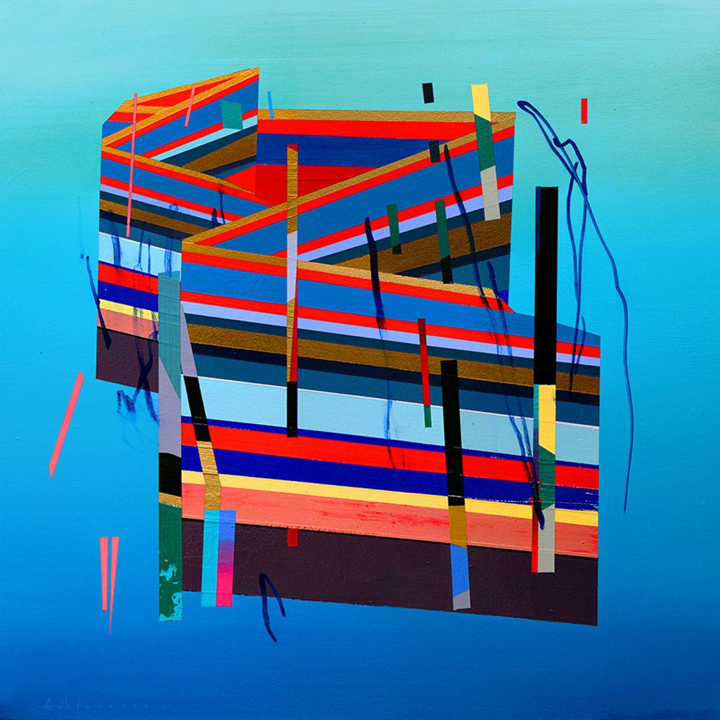 Erik Jones, House In Water, 2014