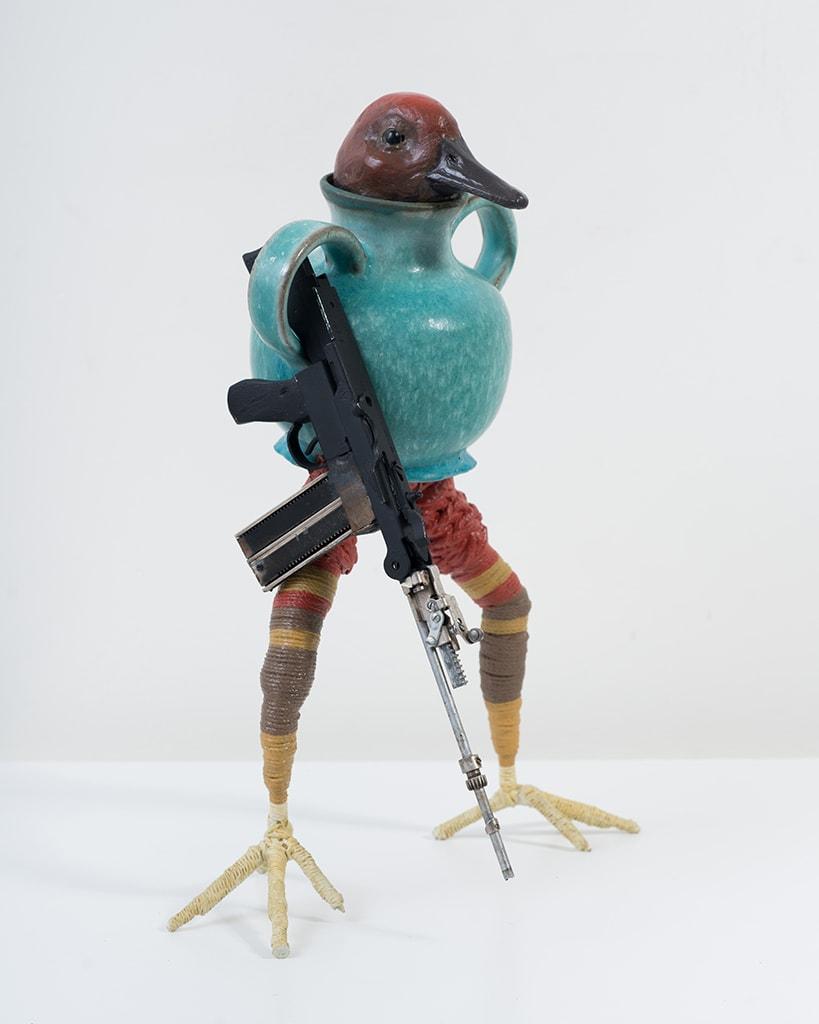 Ravi Zupa, New York Birdpot Creature 4, 2019
