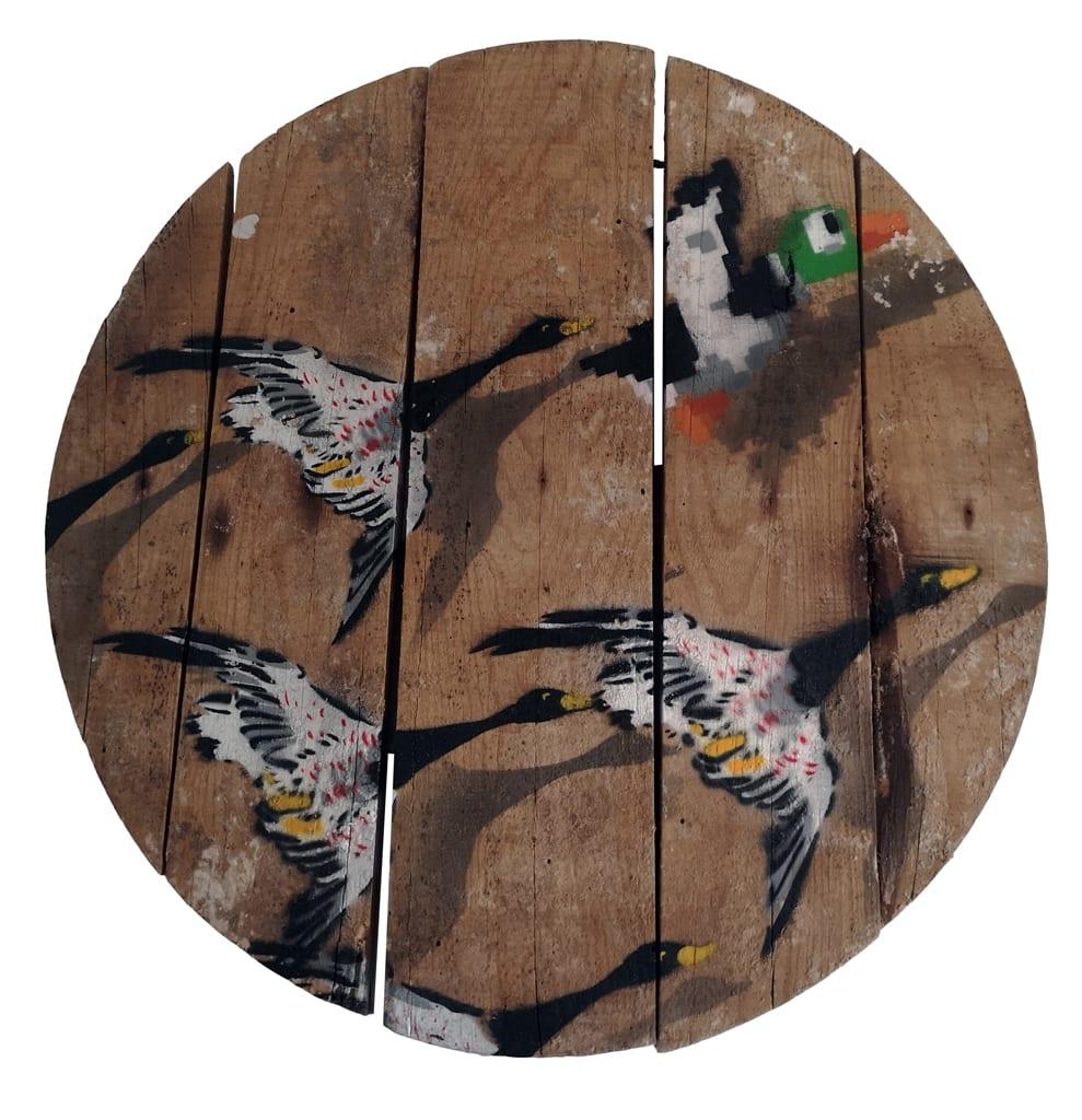OakOak, 200 Years of Birds, 2019