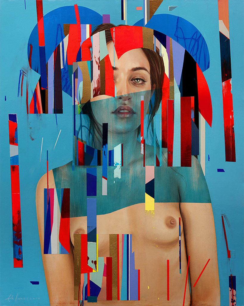 Erik Jones, Her Royal Cloth, 2014