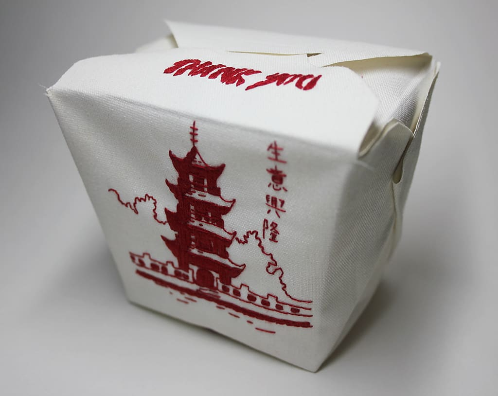 Jessica So Ren Tang, Take Out Box, 2013