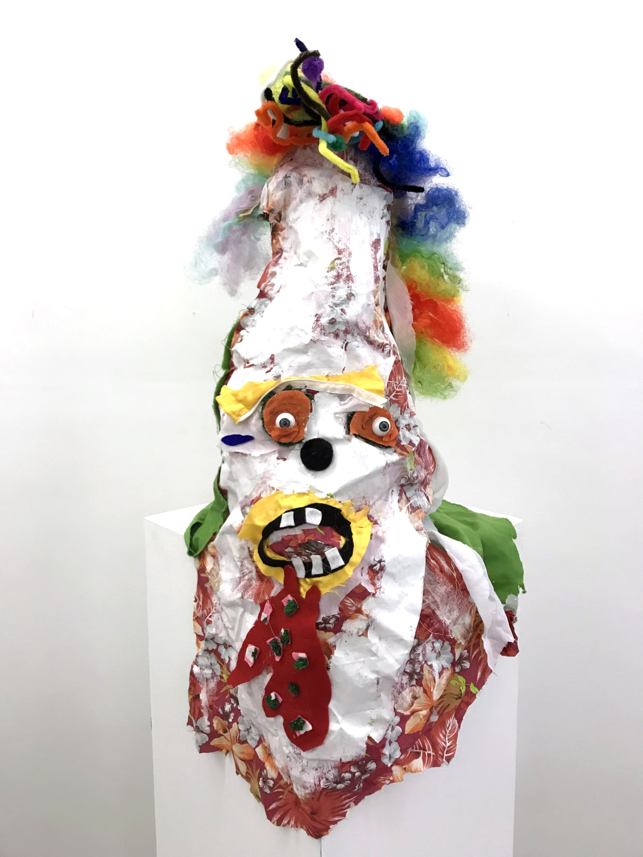 Brian A. Whiteley, Clown Mask 2, 2017