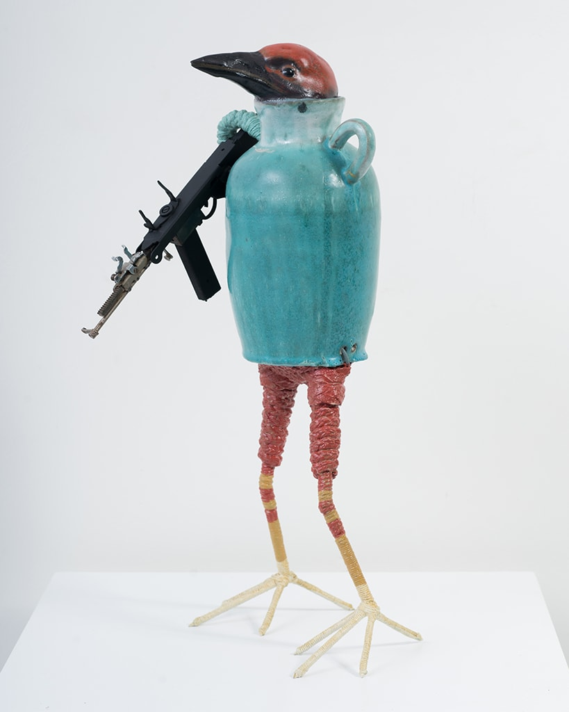 Ravi Zupa, New York Birdpot Creature 10, 2019