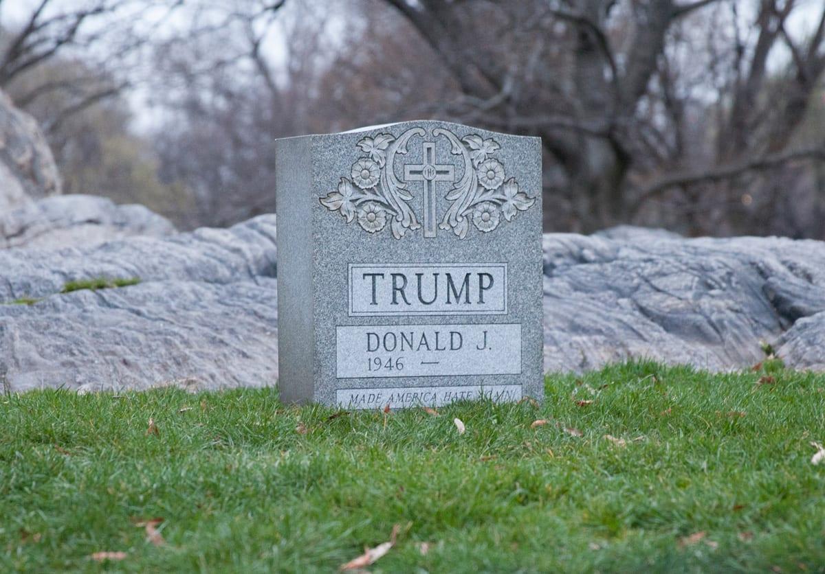 Brian A. Whiteley, Trump Legacy Stone, 2016