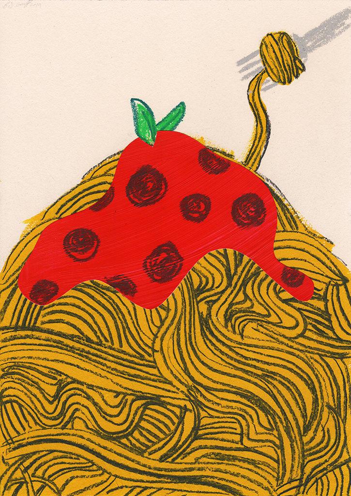 B.D. Graft, Spaghetti, 2019