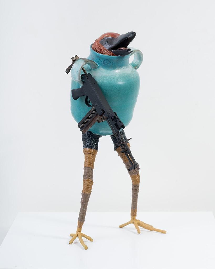 Ravi Zupa, New York Birdpot Creature 11, 2019