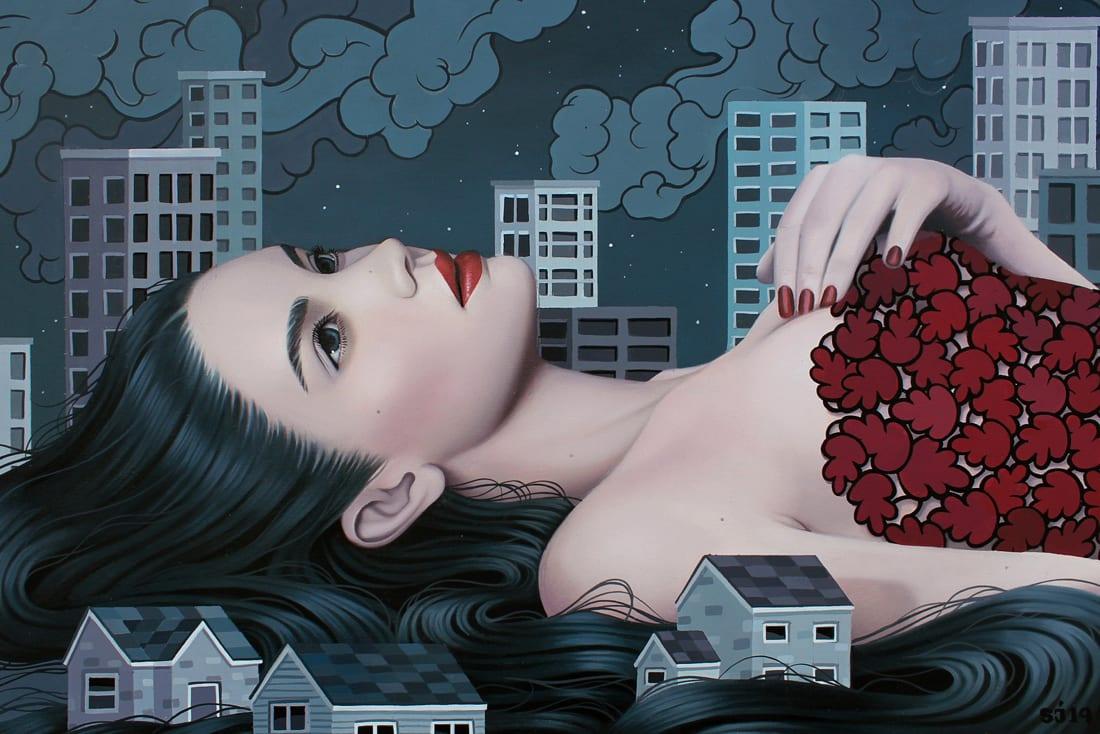 Sarah Joncas, Midnight Blues, 2019