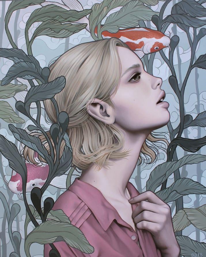 Sarah Joncas, Pond Dreams, 2019