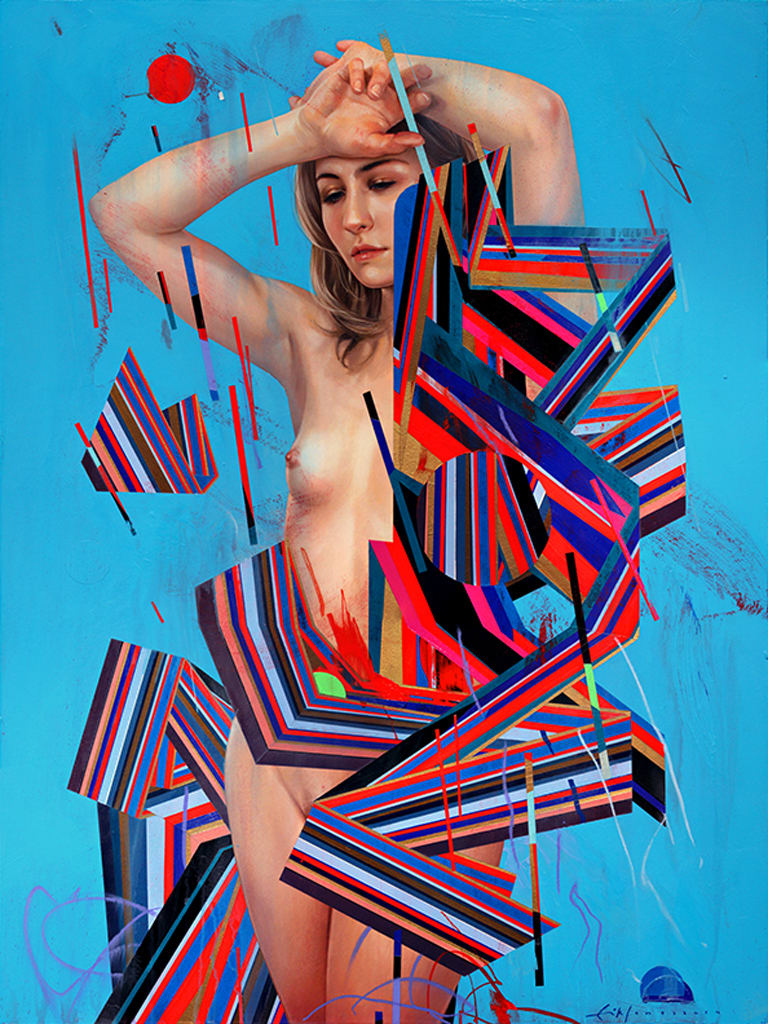 Erik Jones, Dress Of Ribbon, 2014