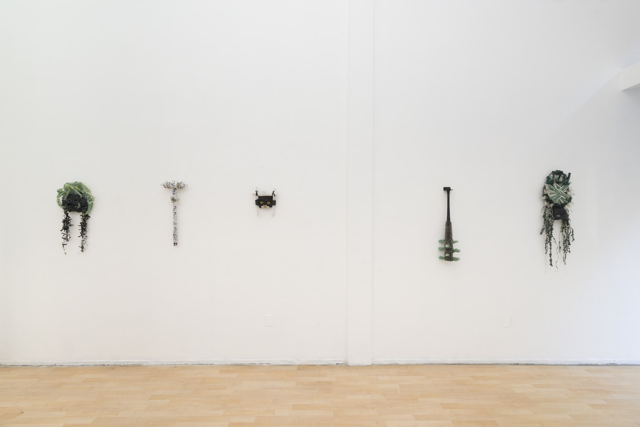 "Lucien Shapiro ""From Ash to Diamonds"" installation view"