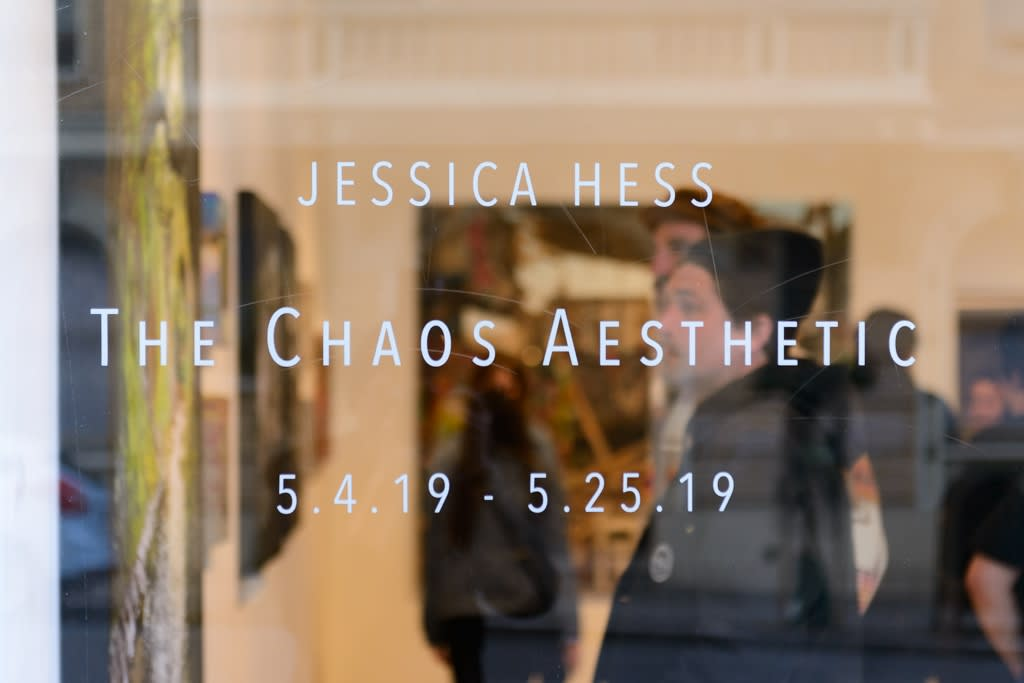 """Jessica Hess """"Chaos Aesthetic"""" opening reception"""