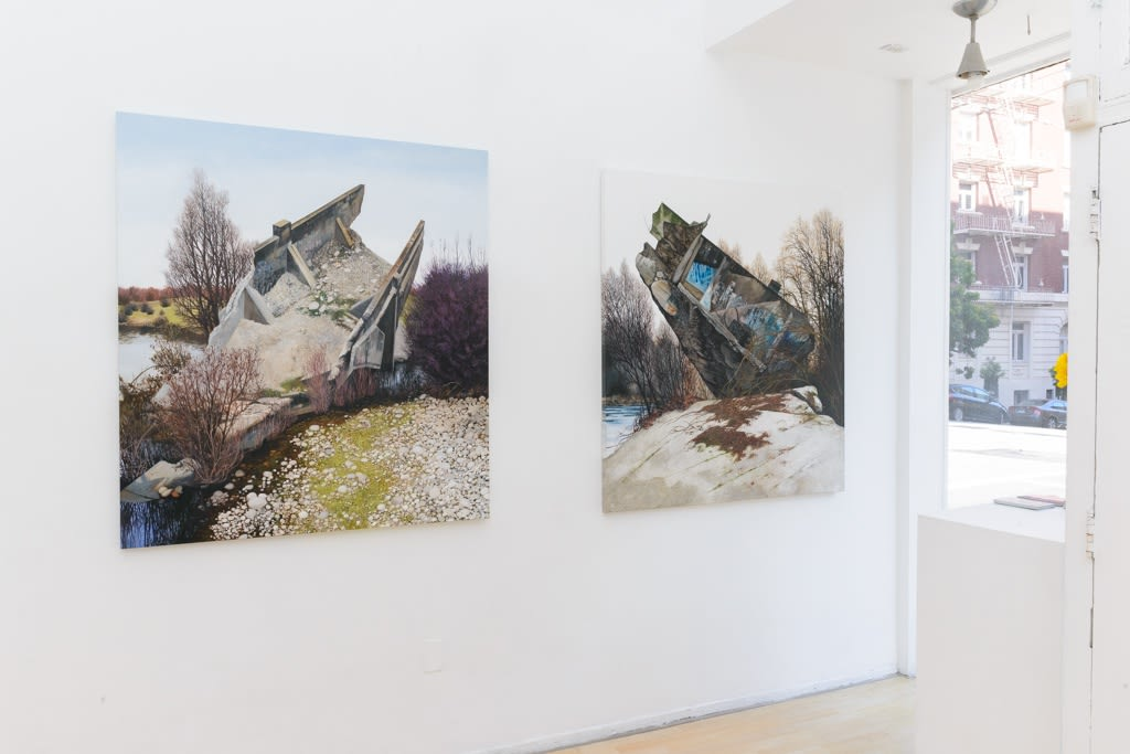 """Jessica Hess """"Chaos Aesthetic"""" installation view"""