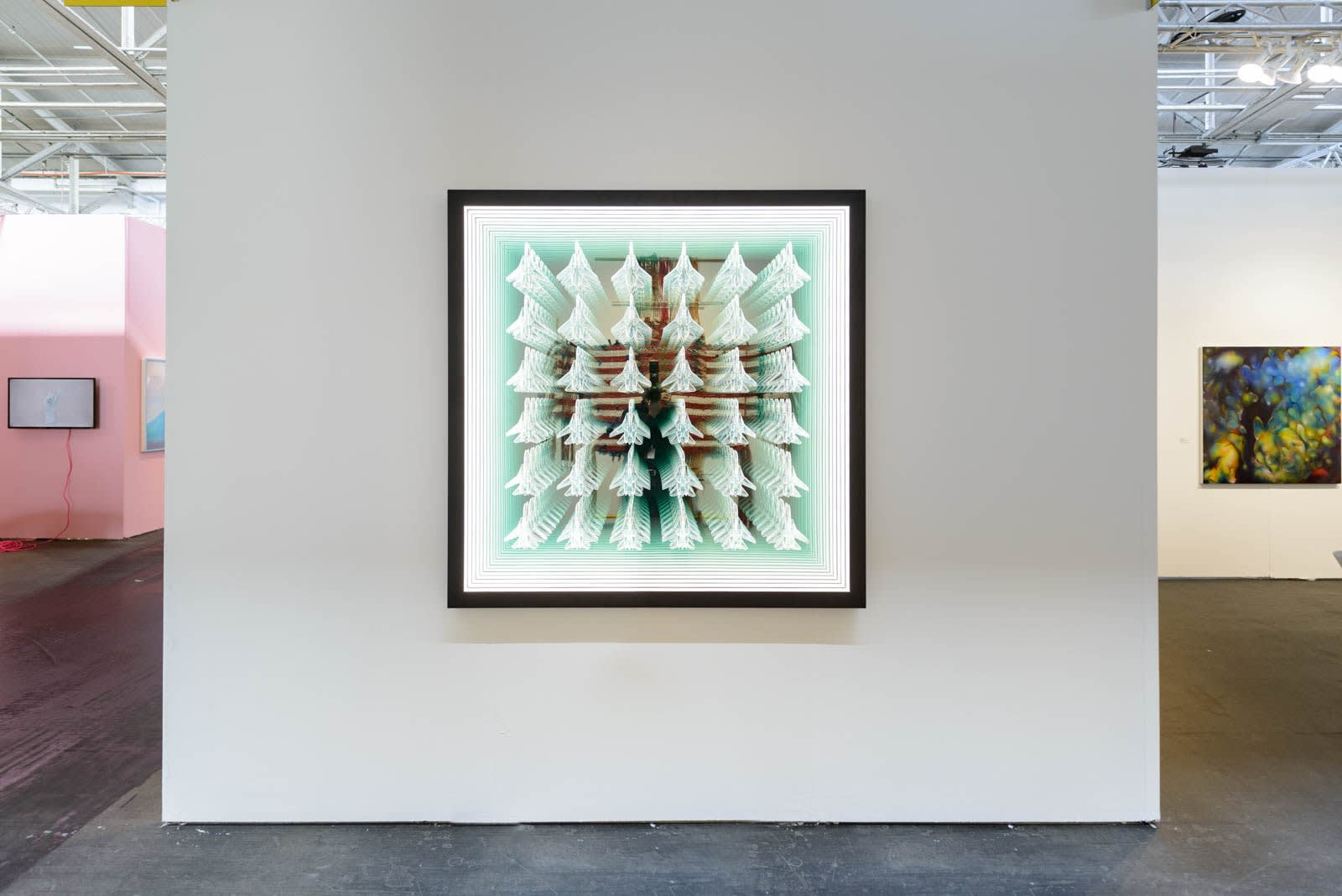 Peter Gronquist infinity mirror installation