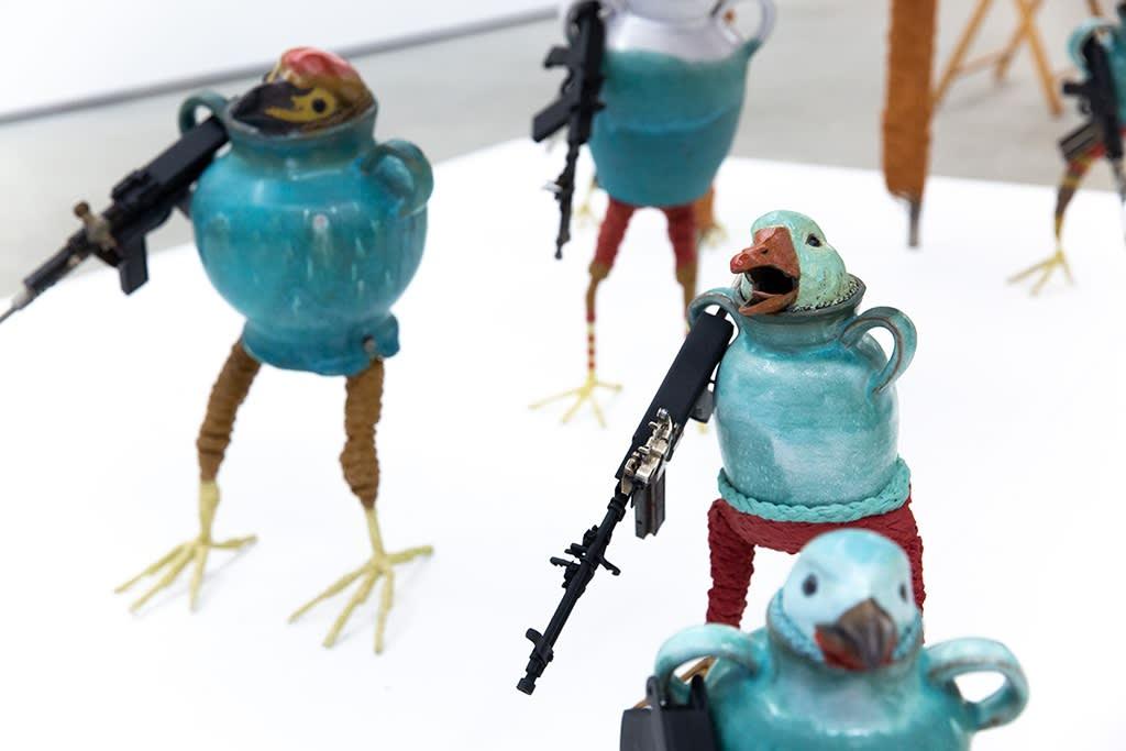 Ravi Zupa Bird Pot Creatures