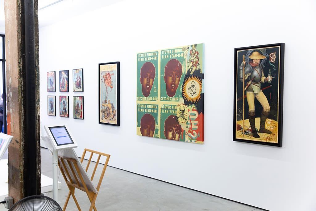 "Ravi Zupa ""Other Avatar"" installation"