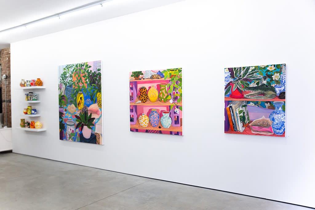 "Anna Valdez ""Natural Curiosity"" installation"
