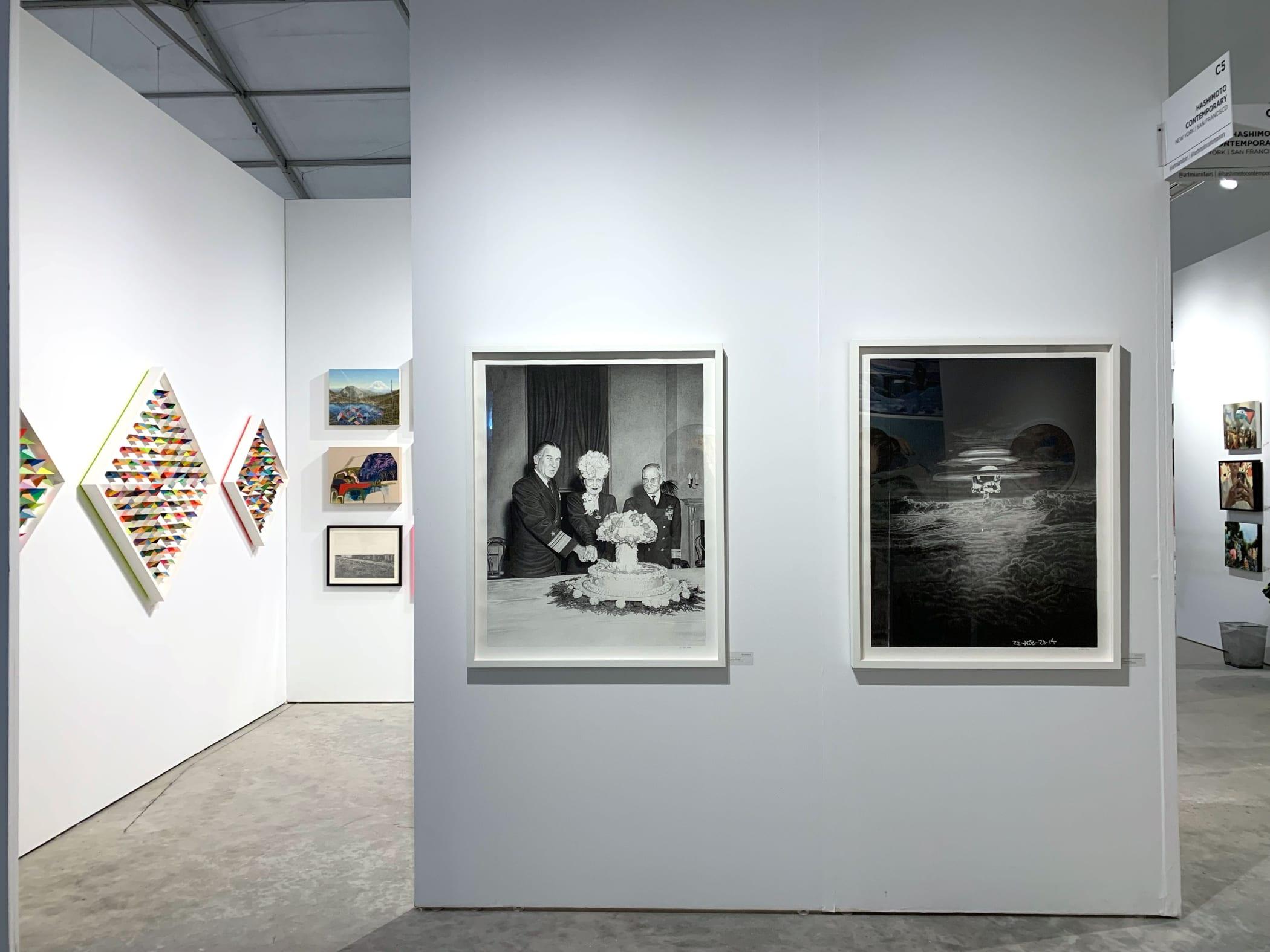 Hashimoto Contemporary booth at CONTEXT Art Miami