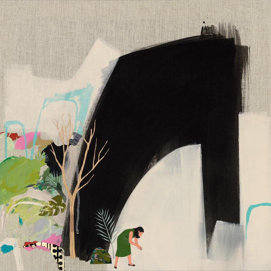 Seonna Hong painting