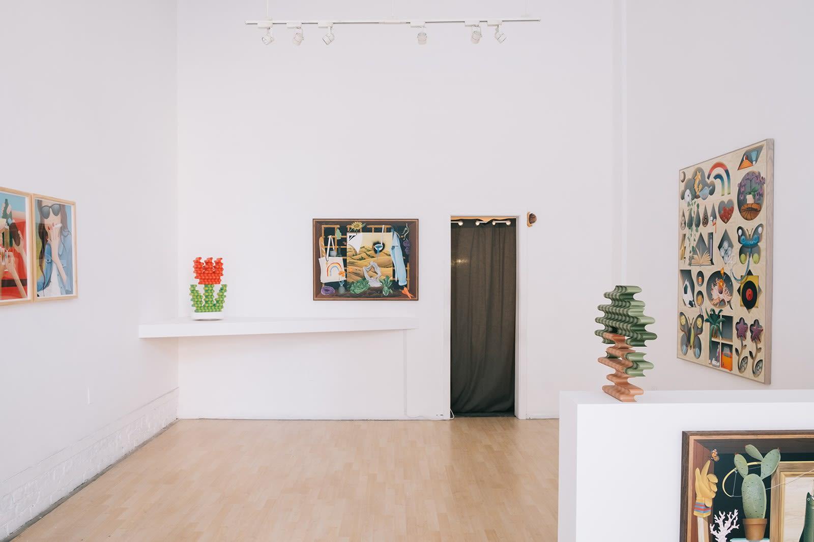 "Casey Gray ""I Can Taste The Sun"" installation"