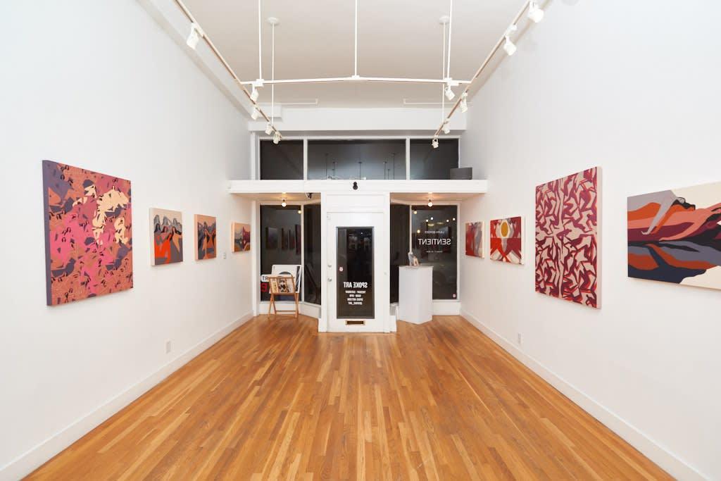 Laura Berger, Sentinent, 2018 Installation view