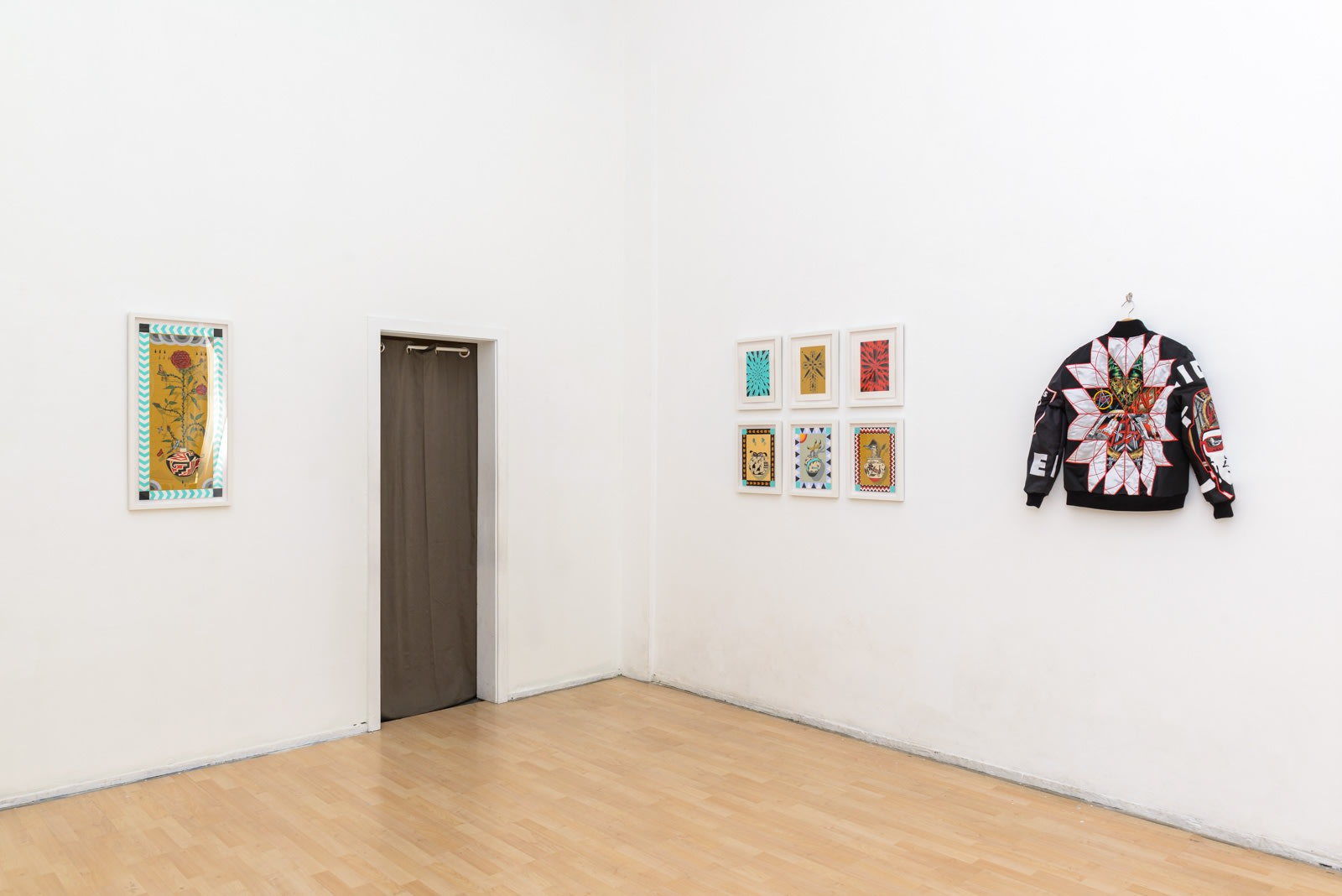 """Ben Venom & Alex Ziv """"Wherever I May Roam"""" installation"""