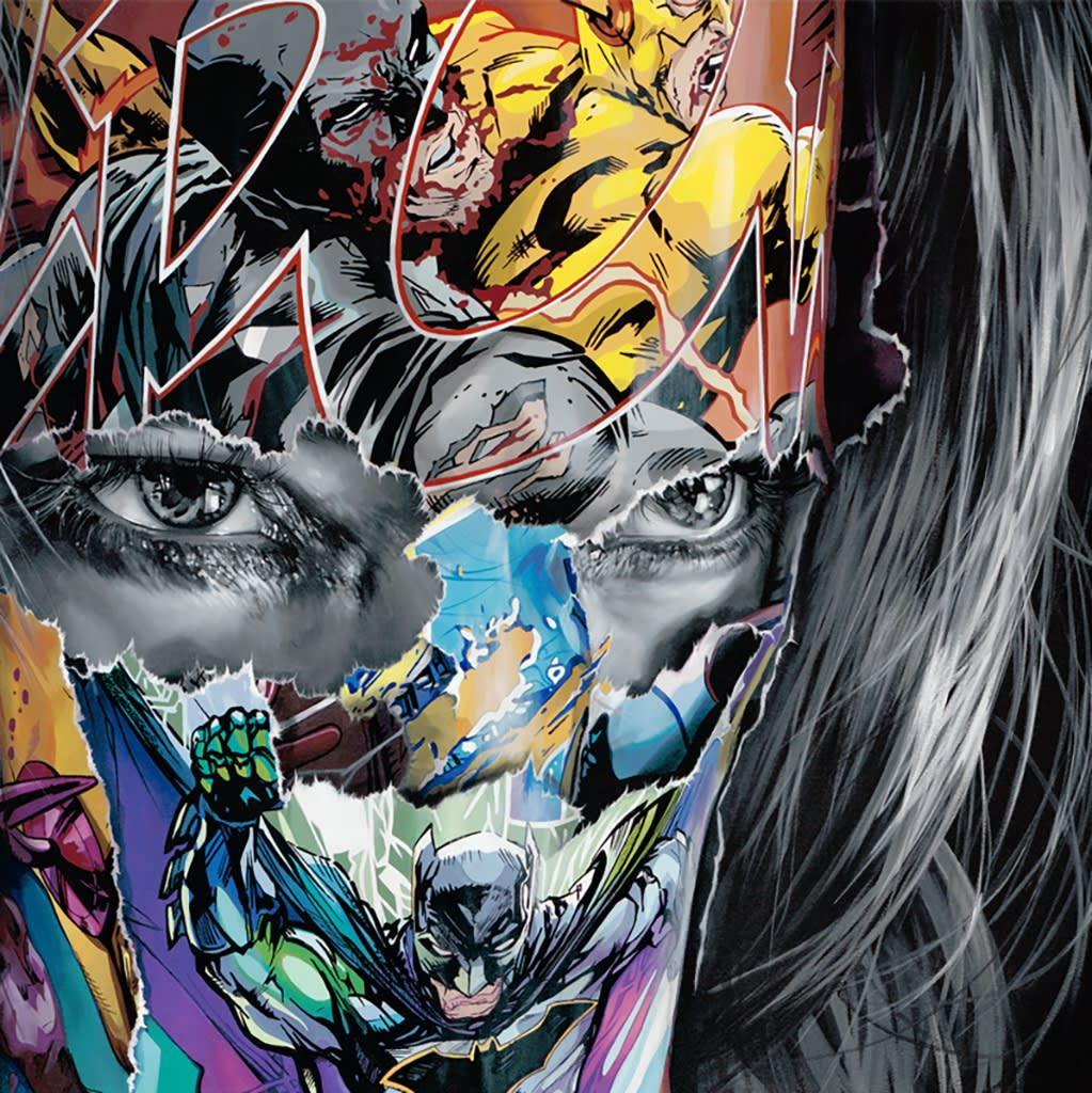Painting by artist Sandra Chevrier