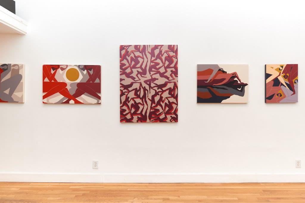 "Laura Berger ""Sentient"" installation"