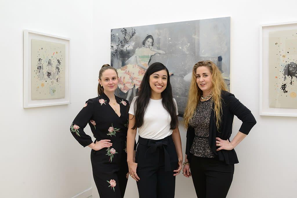 Portrait of Lizzie Gill, Jennifer Rizzo, Hope Kroll
