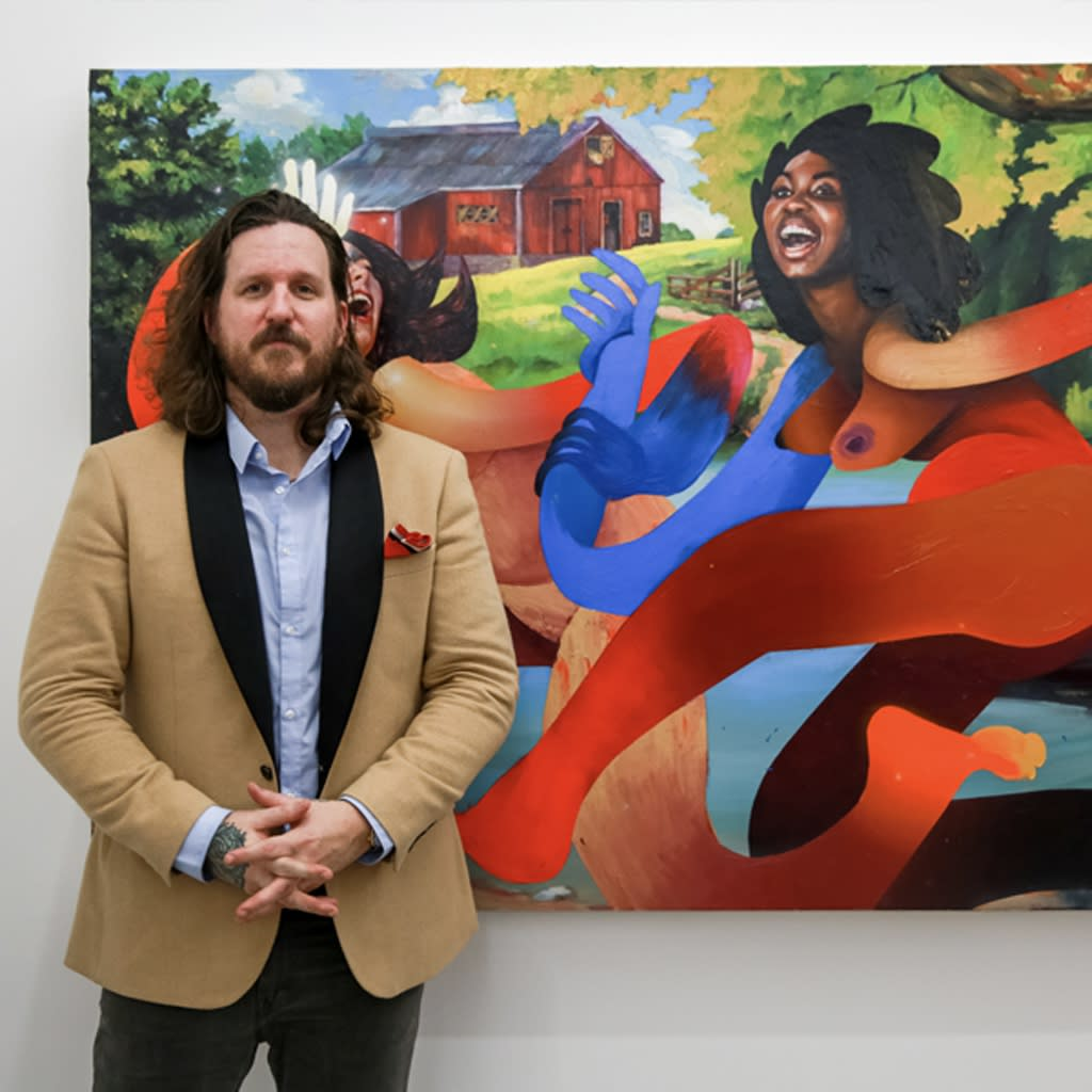 Portrait of artist Erik Jones