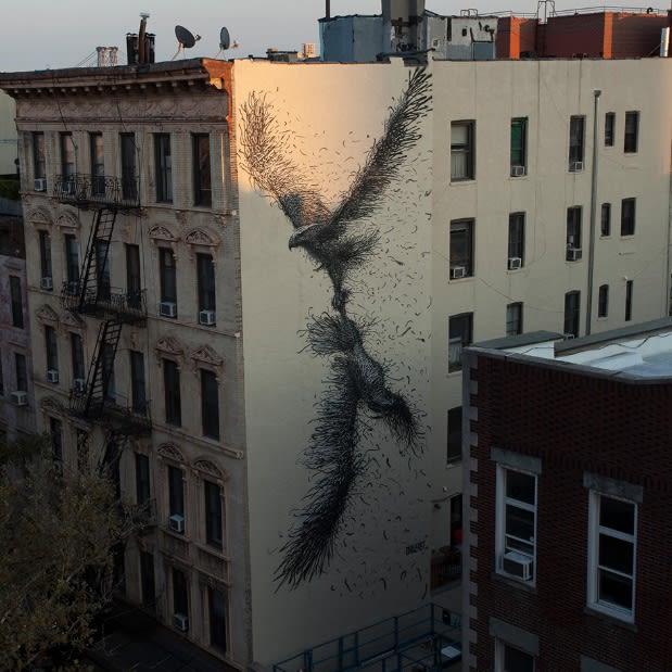 DALeast NYC mural