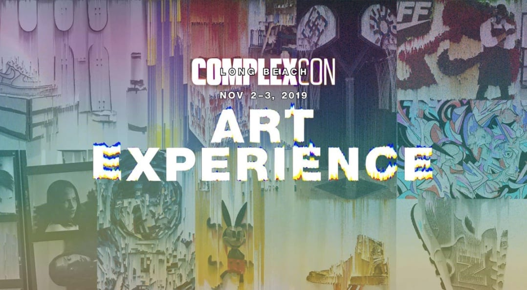 Complex Con 2019 colorful text banner