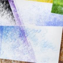 Addolcendo 2 Watercolour on paper 25.5 x 25.5 cm