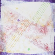 Addolcendo 6 Watercolour on paper 25.5 x 25.5 cm
