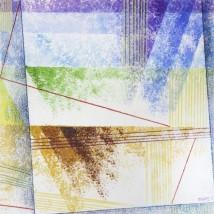 Addolcendo 9 Watercolour on paper 25.5 x 25.5 cm