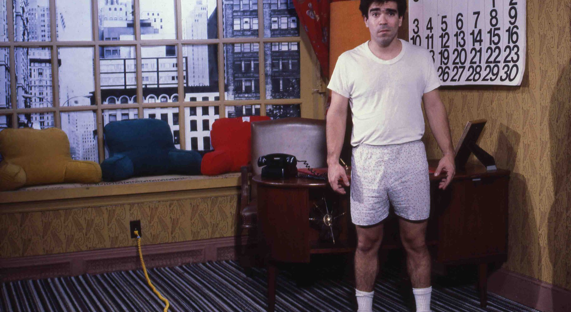 Michael Smith, Mike's House, 1982, performance at Whitney Museum of American Art, NYC