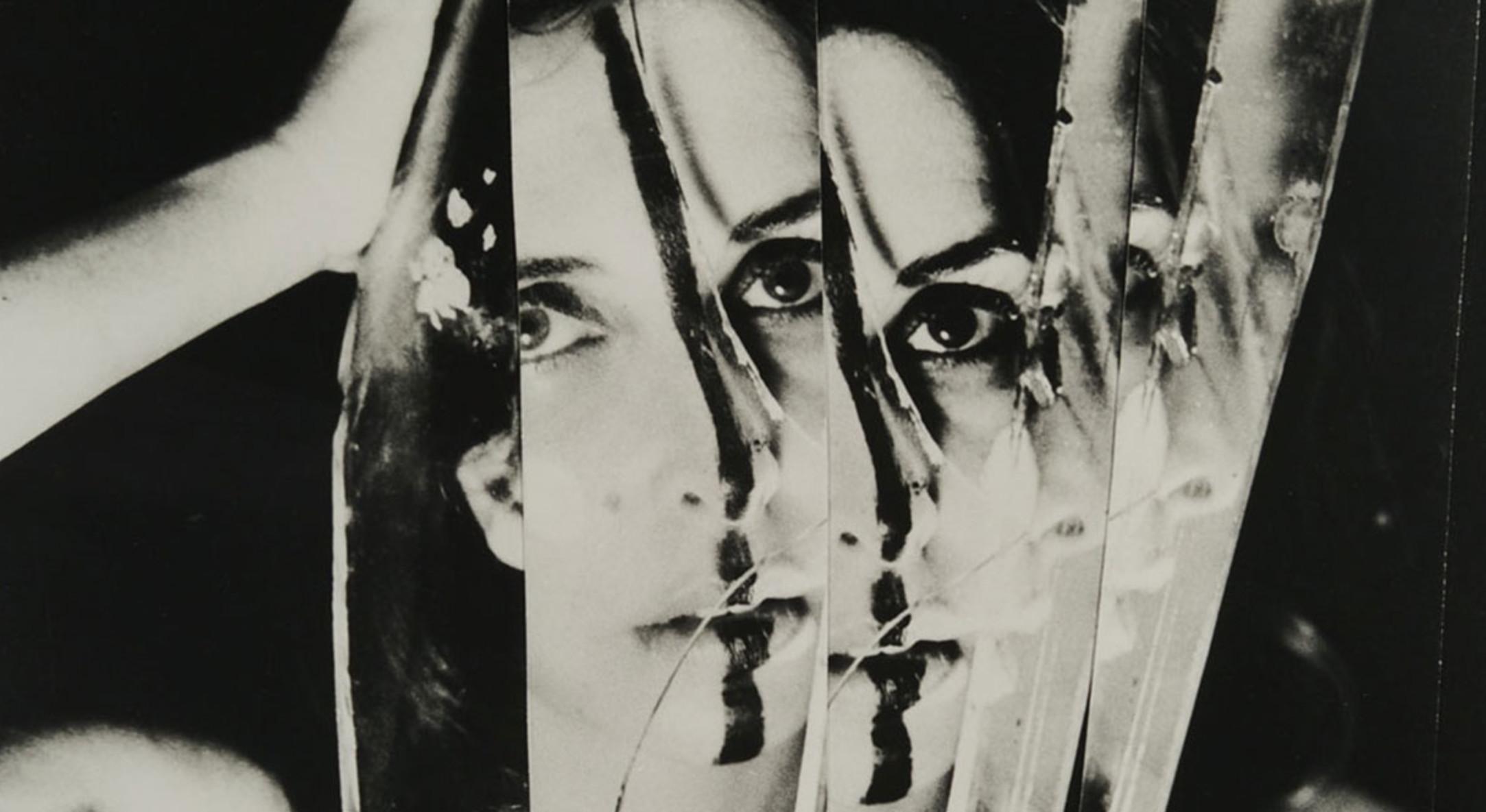 Carolee Schneemann, Eye Body #11, 1963. Image courtesy the Schneemann studio.