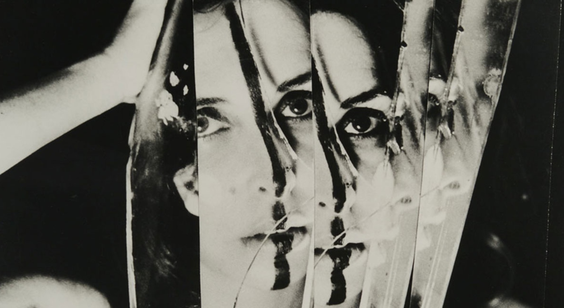 Detail of Carolee Schneemann, Eye Body #11, 1963/1989, Gelatin silver print, 27.9 x 35.6 cm, 11 x 14 in, Framed: 52.5 x 43.5 x 4 cm, 20 5/8 x 17 1/8 x 1 5/8 in