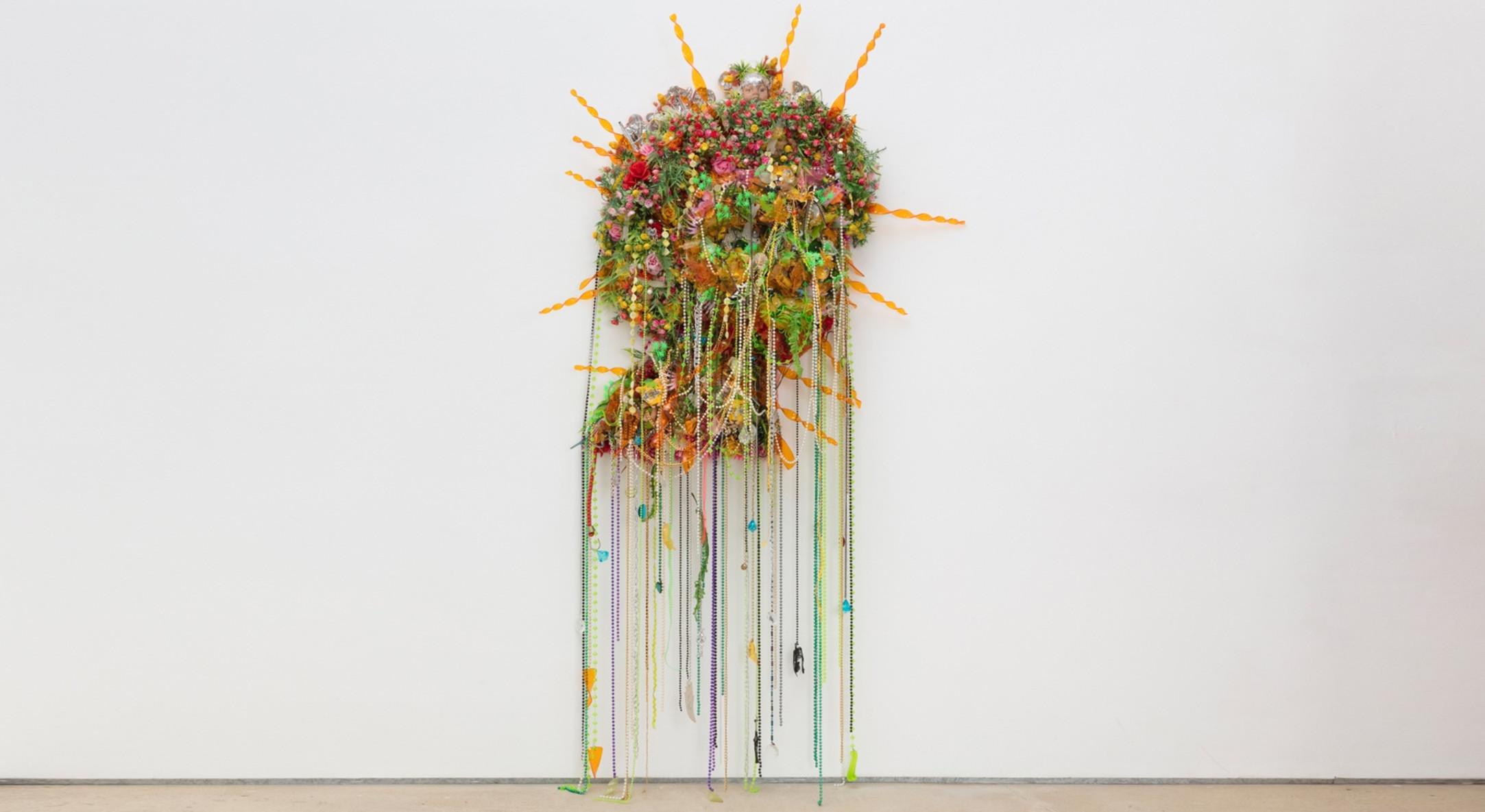 Hew Locke, Demeter, 2010, Mixed media, 232 x 100 x 42 cm, 91 3/8 x 39 3/8 x 16 1/2 in