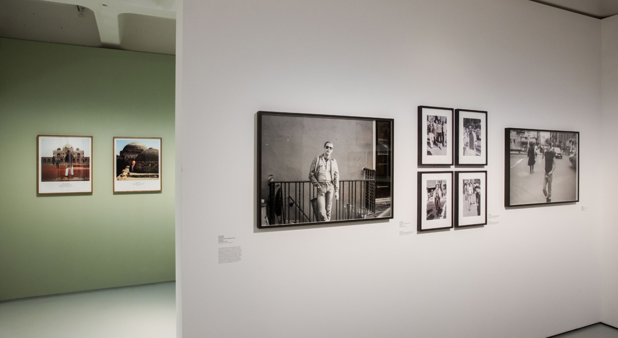 Installation view of Masculinities, Liberation through Photography, Barbican Art Gallery, 20 February 2020 – 17 May 2020. Photo by Max Colson