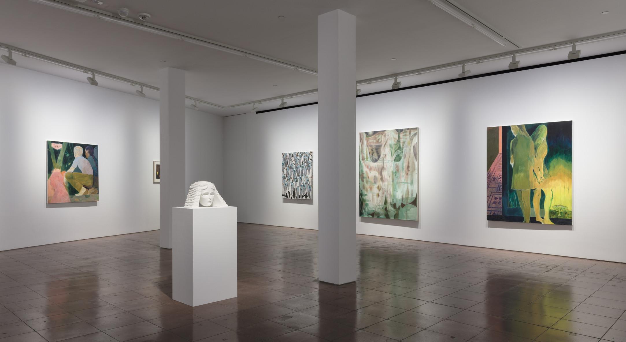 Installation view of The Moon Seemed Lost, Ruby Onyinyechi Amanze, Omar Ba, Anthony Cudahy, TM Davy, Rotimi Fani-Kayode, Sarah Peters, and Maja Ruznic, at Hales New York