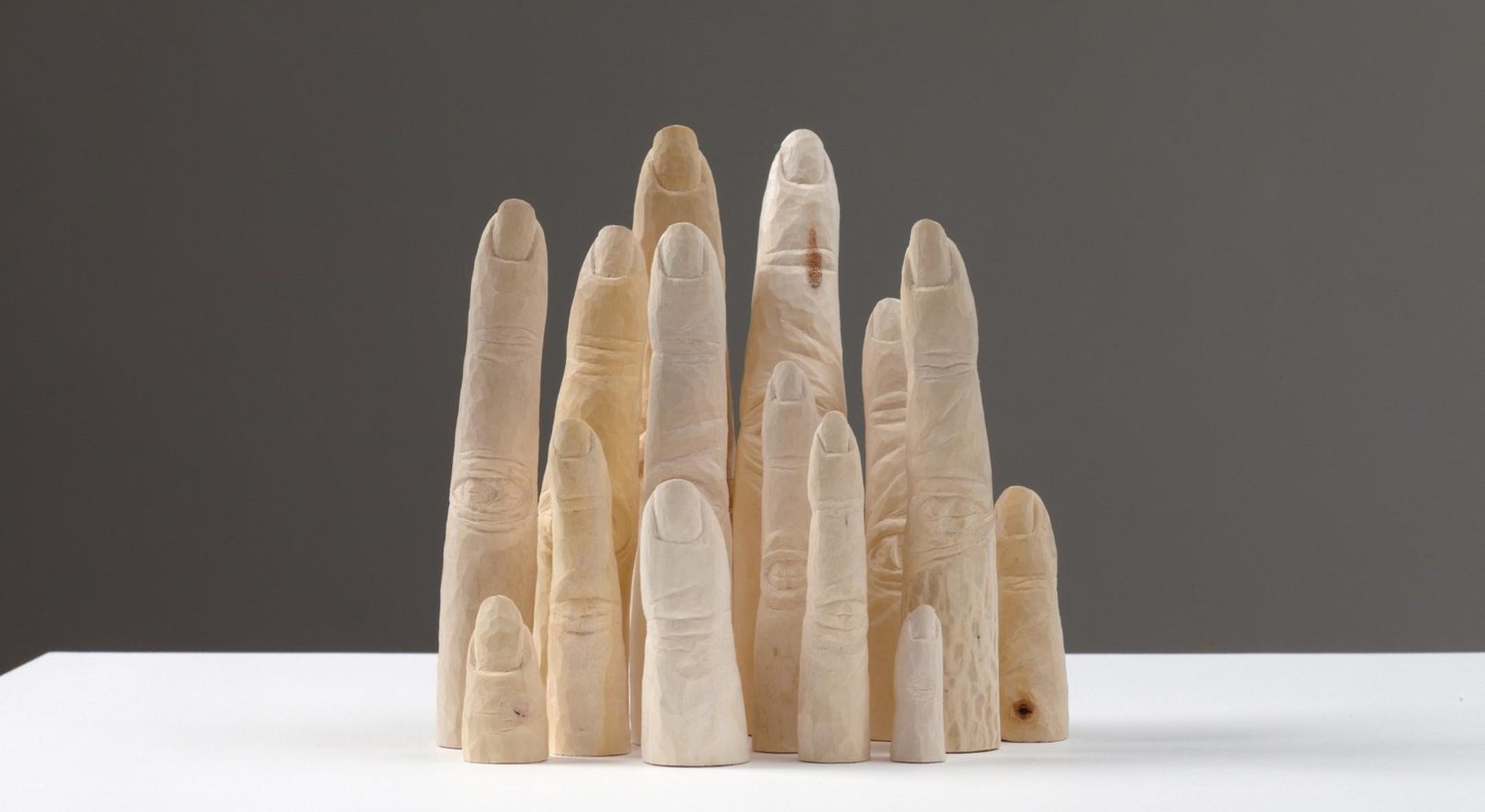 Jane Wilbraham, Index, 2010-2011, Sycamore, 17 x 13 x 10 cm, 6 3/4 x 5 1/8 x 4 in