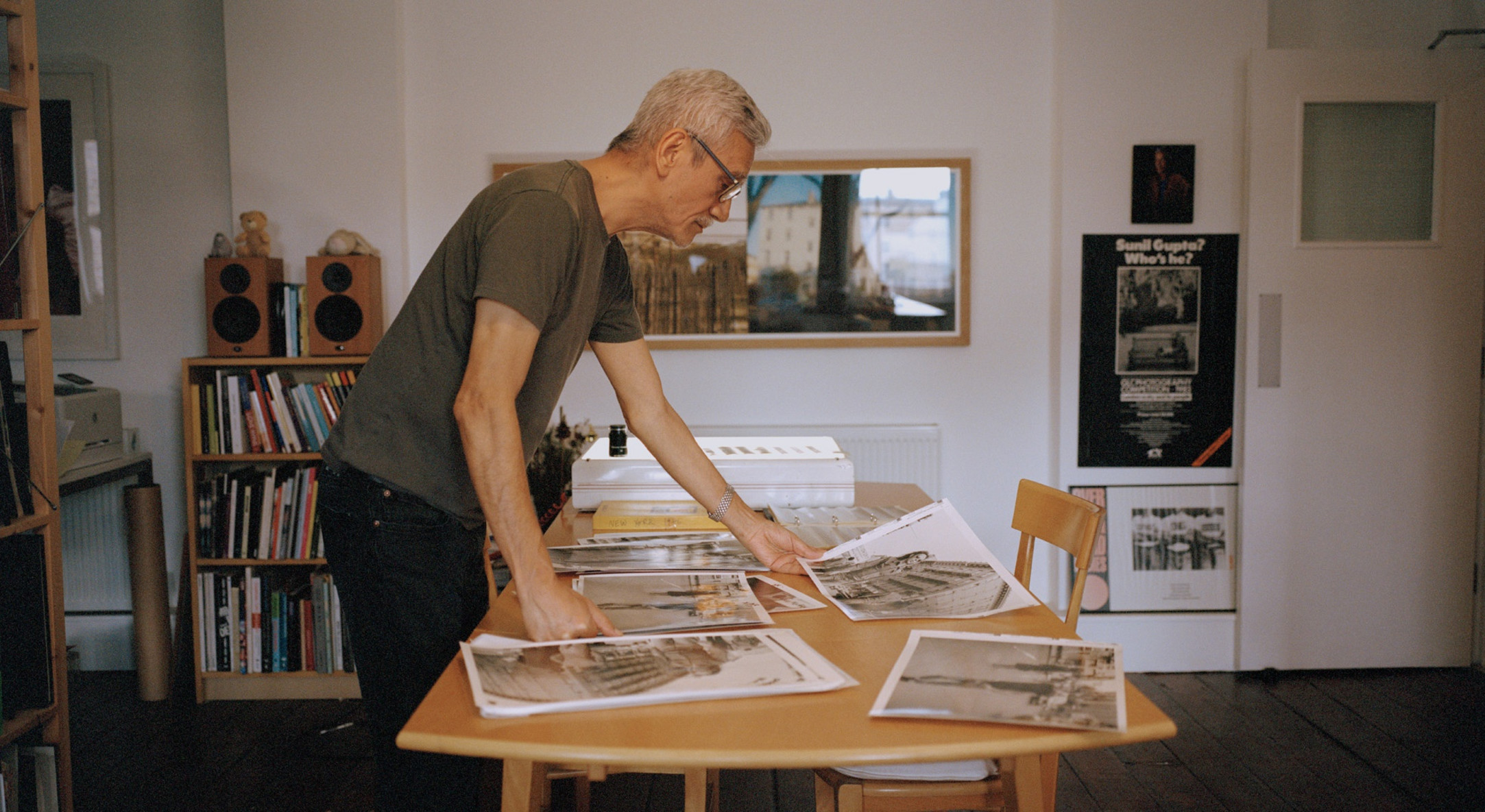 Sunil Gupta in his studio, 2020